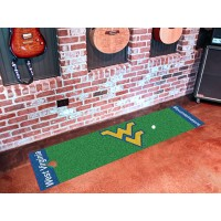West Virginia University Golf Putting Green Mat