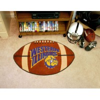 Western Illinois University Football Rug