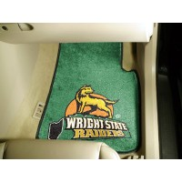 Wright State University 2 Piece Front Car Mats