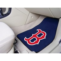 MLB - Boston Red Sox 2 Piece Front Car Mats