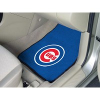 MLB - Chicago Cubs 2 Piece Front Car Mats