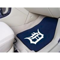 MLB - Detroit Tigers 2 Piece Front Car Mats