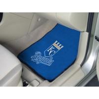 MLB - Kansas City Royals 2 Piece Front Car Mats