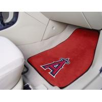 MLB - Los Angeles Angels 2 Piece Front Car Mats