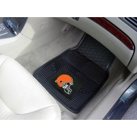 NFL - Cleveland Browns Heavy Duty 2-Piece Vinyl Car Mats