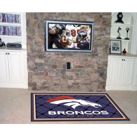 NFL - Denver Broncos  5 x 8 Rug