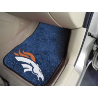NFL - Denver Broncos 2 Piece Front Car Mats