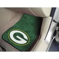 NFL - Green Bay Packers 2 Piece Front Car Mats