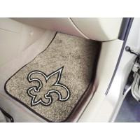 NFL - New Orleans Saints 2 Piece Front Car Mats