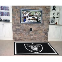 NFL - Oakland Raiders 4 x 6 Rug