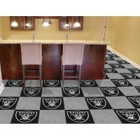NFL - Oakland Raiders Carpet Tiles