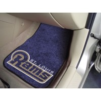 NFL - St Louis Rams 2 Piece Front Car Mats