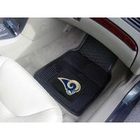 NFL - St Louis Rams Heavy Duty 2-Piece Vinyl Car Mats
