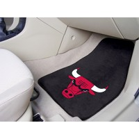 NBA - Chicago Bulls 2 Piece Front Car Mats