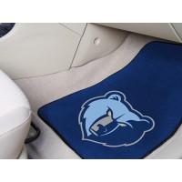 NBA - Memphis Grizzlies 2 Piece Front Car Mats