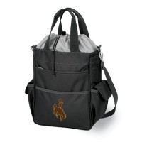 University of Wyoming Activo Tote - Black Digital Print