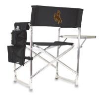 University of Wyoming Stadium Seat - Black Digital Print