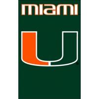 AFMIA Miami with U 44x28 Applique Banner