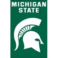 AFMS Michigan State 44x28 Applique Banner