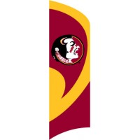 TTFSU Florida State Tall Team Flag with pole