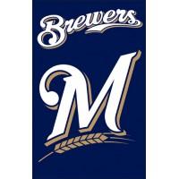 AFMIL Brewers 44x28 Applique Banner