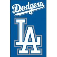 AFLAD Dodgers 44x28 Applique Banner