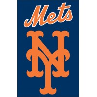 AFNYM Mets 44x28 Applique Banner