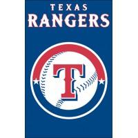 AFTEX Rangers 44x28 Applique Banner