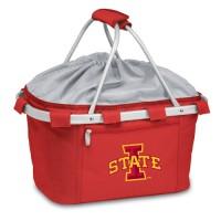 Iowa State Printed Metro Basket Picnic Basket Red