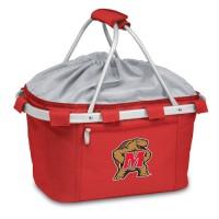 University of Maryland Printed Metro Basket Picnic Basket Red