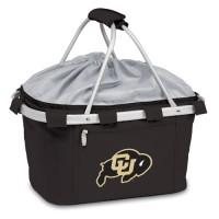 University of Colorado Printed Metro Basket Picnic Basket Black