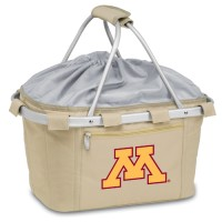 University of Minnesota Printed Metro Basket Picnic Basket Beige