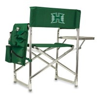 University of Hawaii Sports Chair - Hunter Green Embroidered