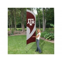 TTTAM Texas A&M Tall Team Flag with pole