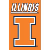 AFIL Illinois 44x28 Applique Banner