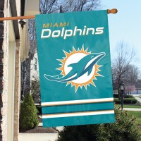 AFMD Dolphins 44x28 Applique Banner