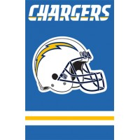 AFSD Chargers 44x28 Applique Banner