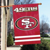 AFSF Forty-niners 44x28 Applique Banner