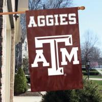 AFTAM Texas A & M 44x28 Applique Banner