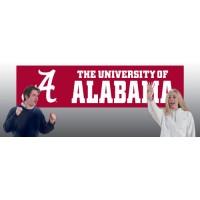 BAL Alabama Giant 8-Foot X 2-Foot Nylon Banner