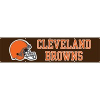BBR Browns Giant 8-Foot X 2-Foot Nylon Banner