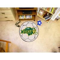 North Dakota State University Soccer Ball Rug