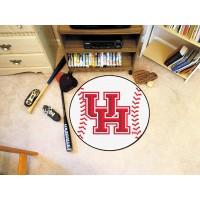 University of Houston Baseball Rug