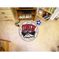 UNLV University of Nevada Las Vegas Soccer Ball Rug