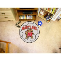 University of Maryland Soccer Ball Rug