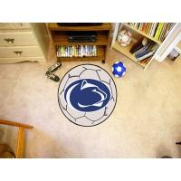 Penn State  Soccer Ball Rug