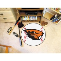 Oregon State University Baseball Rug