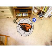 Oregon State University Soccer Ball Rug