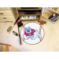 Fresno State Baseball Rug