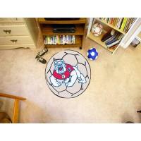 Fresno State Soccer Ball Rug